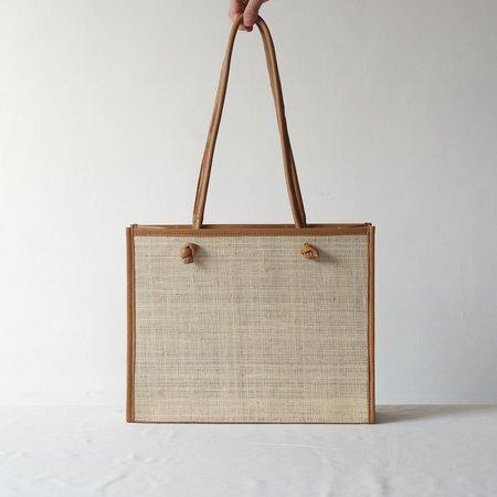 INNÉ Studios Tote  Noa Everyday Bag - Natural/Tan