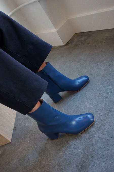 """INTENTIONALLY __________."" Janetta Boot - Blue"