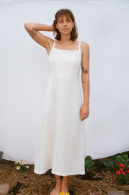 Mimi Holvast Floss Dress - Off White