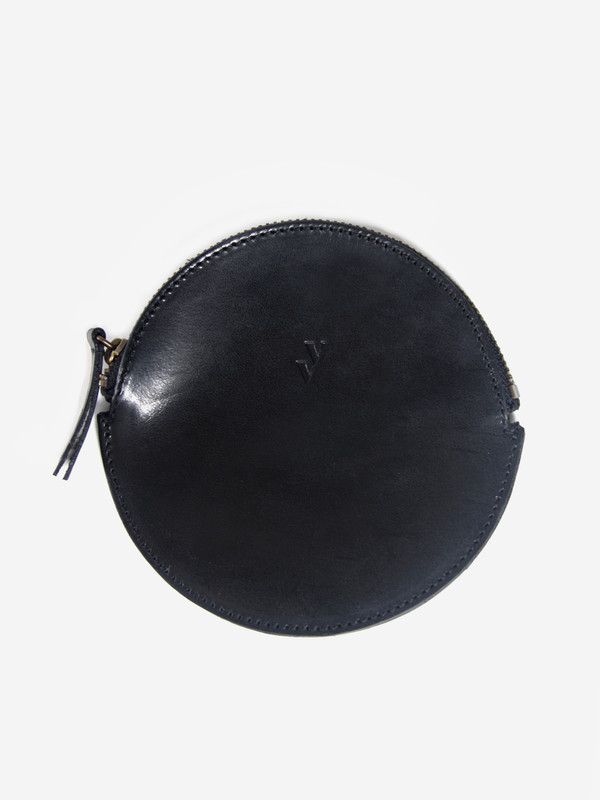 VereVerto Mon Circle Pouch Black