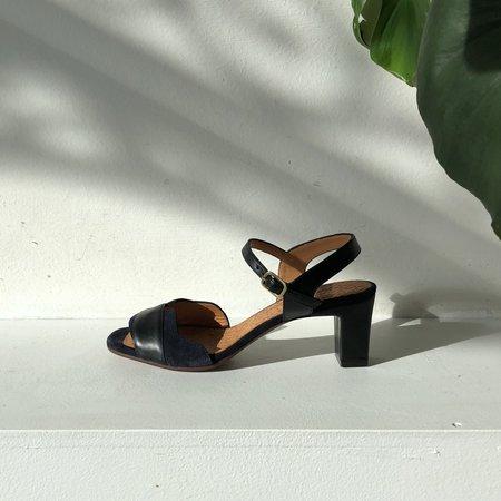 Chie Mihara Katis Sandals - black/blue