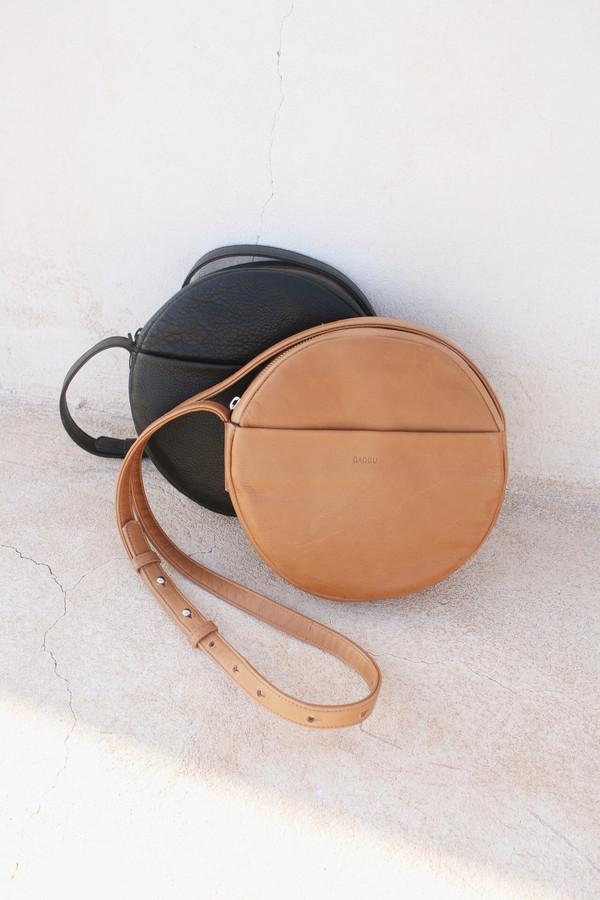 Baggu Circle Purse in Saddle