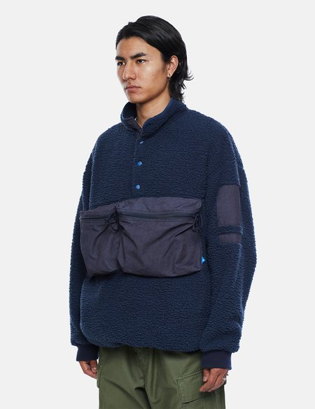 Liberaiders Pile Fleece Pullover - Navy Blue