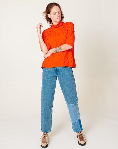 Rachel Comey Lada Top - Coral