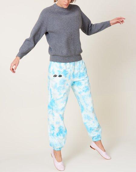 Clare V. Sweatpants - Blue Tie Dye