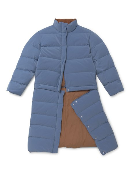 Paloma Wool Armstrong Puffer - Ink Blue