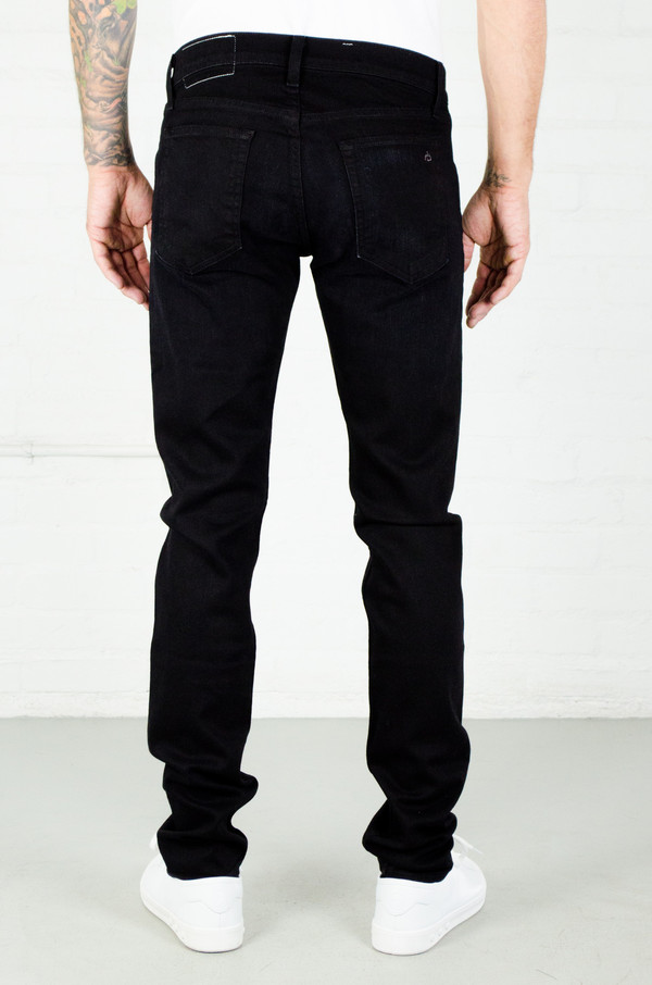 Rag and Bone Fit 2 Jean - Worn Black