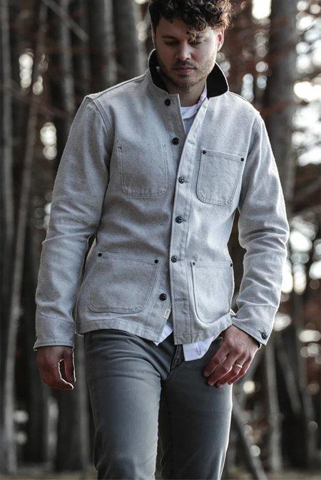Kato Vise Recycled Cotton Jacket - Light Blue