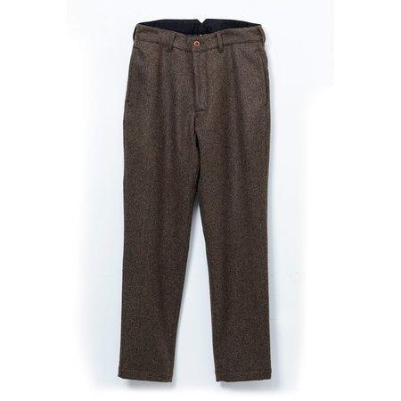 Momotaro Jeans Melton Trousers - Brown
