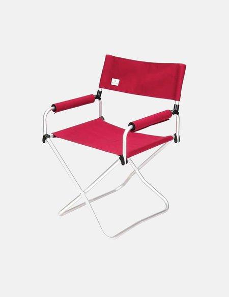 Snow Peak wide Folding Chair - Red