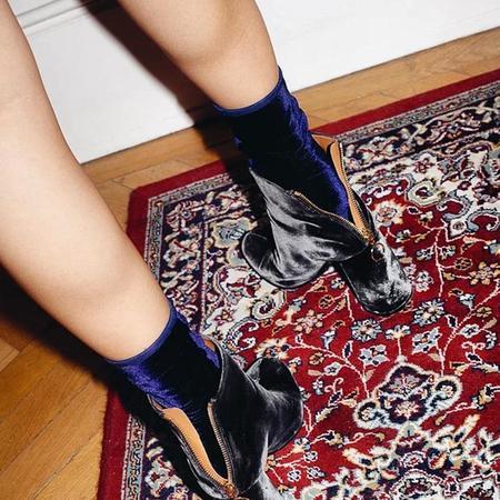 Simone Wild Velvet Socks