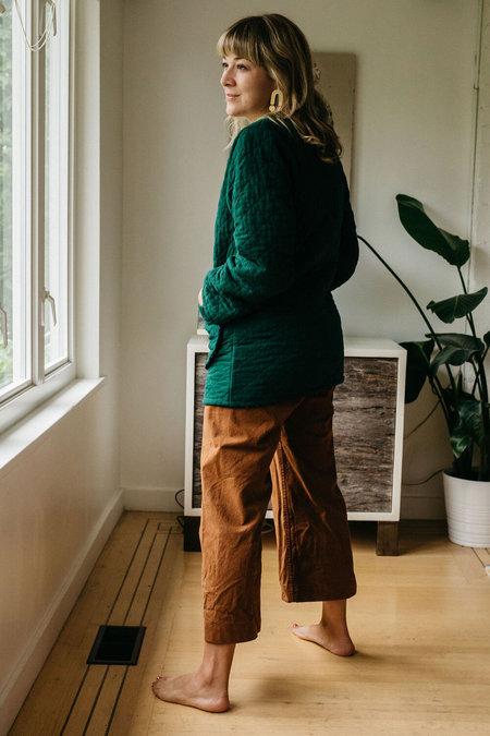Devon's Drawer Sage Long Jacket