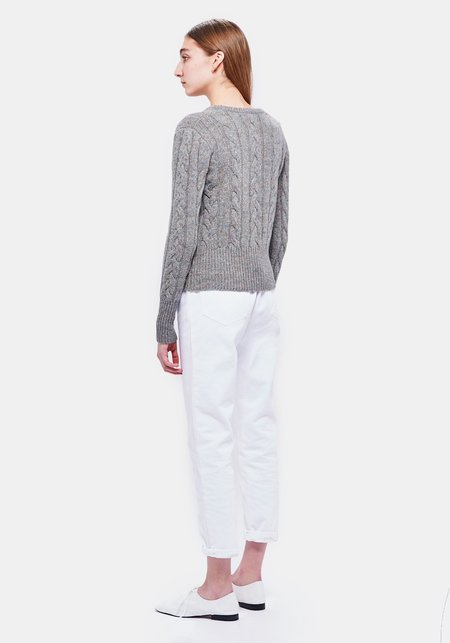 DEMYLEE CICELY SWEATER - MISTY GREY