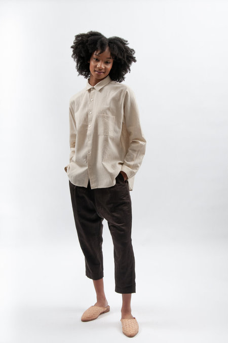 Cotton 11.11. eleven eleven Lovers Shirt - Natural