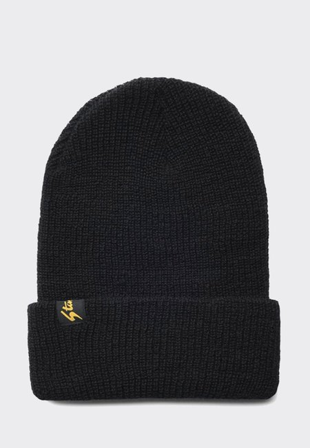 Stan Ray Watchcap Beanie - black wool