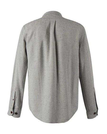 Portuguese Flannel Rude Shirt - Grey