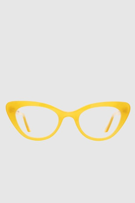 Lowercase Steeplechase Optical Glasses - Canary