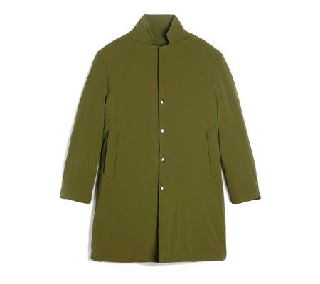 Homecore Malaucene Delfi Long Parka Khaki Coat - Olive