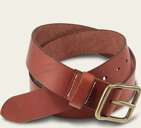 Red Wing Shoes Oro Russet Pioneer Leather Belt