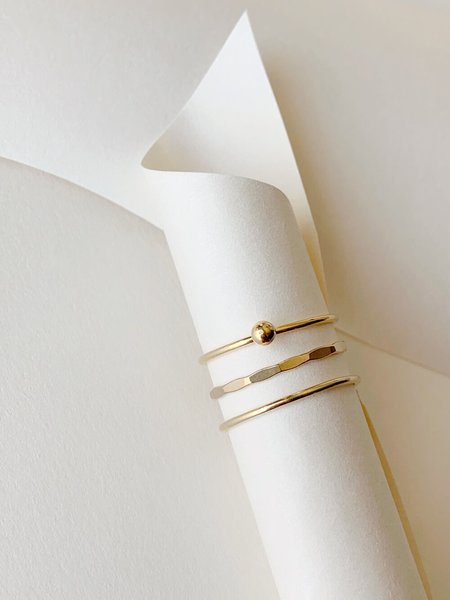 HighLow Linea Stack Ring - 14k Gold Fill