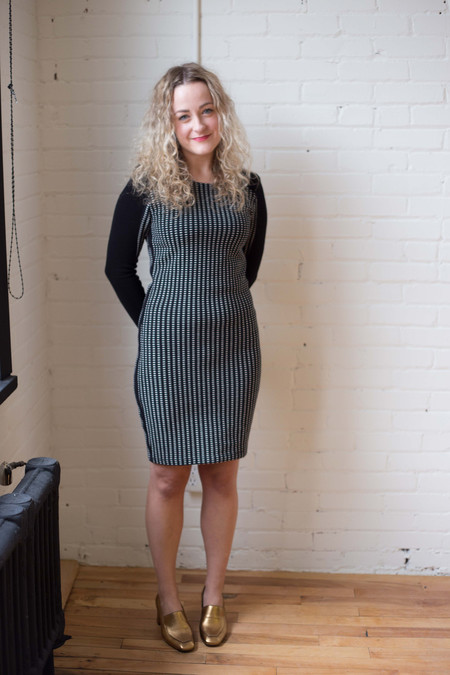 Eve Gravel Andromeda Dress