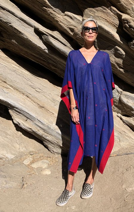 Two Supersoft Caftan - Blue