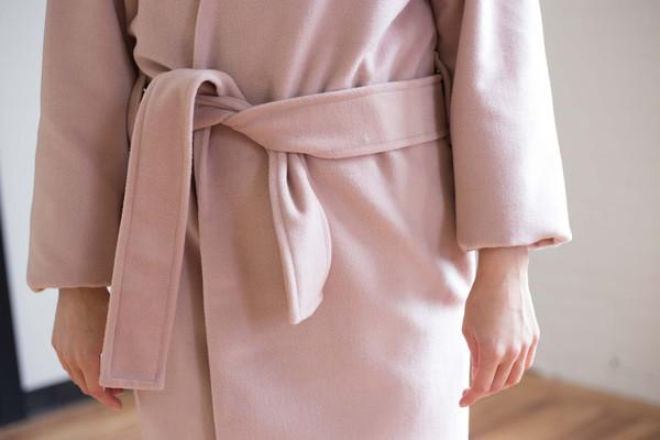 Odeyalo Figaro Coat (Blush)