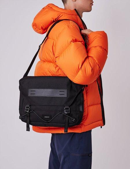 Sandqvist Gabriel Messenger Bag - Black