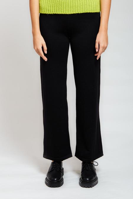 MARIO Virgin Wool Pants - Black