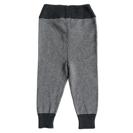 Kids Cataleya Alfa Cashmere Leggings - Black Stripes