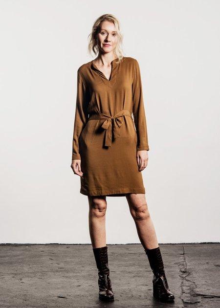 Tinsels Ligia Dress - Curry
