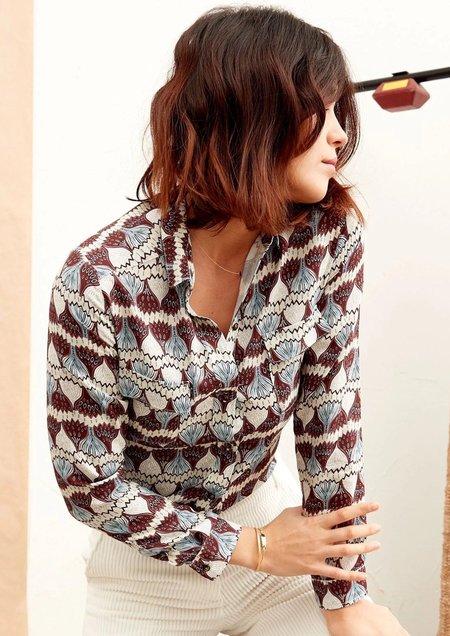 Tinsels Lulu Shirt - Ecru