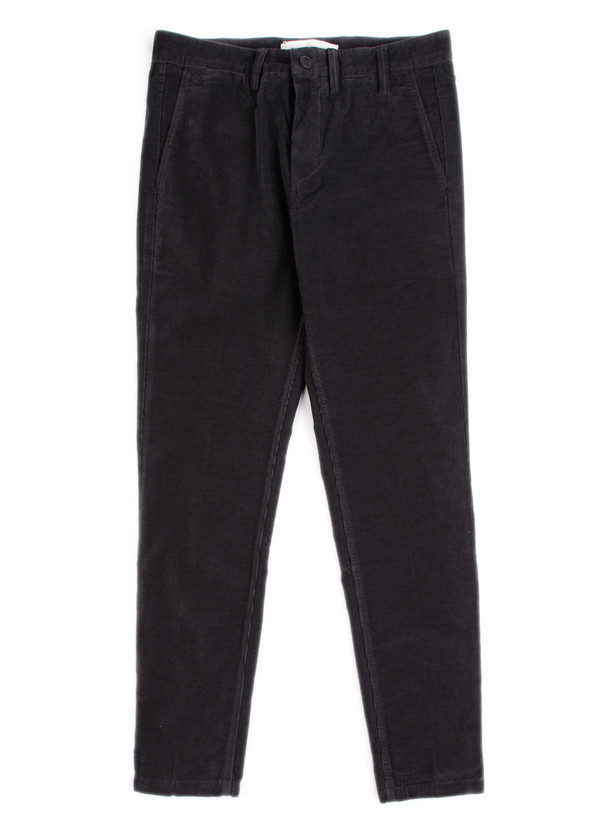 Men's Norse Projects Aros Slim Light Corduroy Charcoal