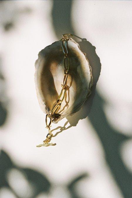 Jasmin Sparrow Coco Bracelet -  14 carat gold-plated