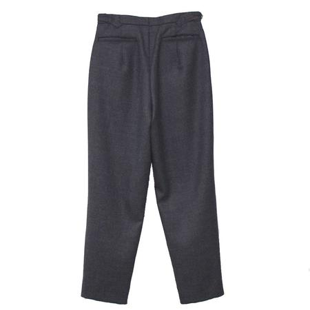 KAPTAIN SUNSHINE Wide Trousers - MID GRAY