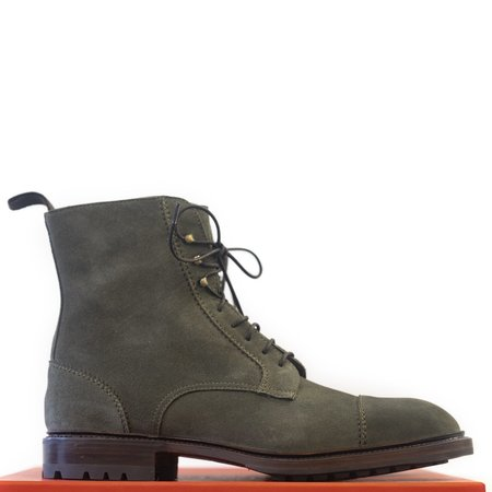 Carmina - Loden Suede Jumper Boots Oscar Last