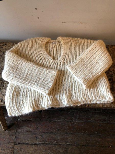 Stellapop Alpaca Knit Sweater - Ivory