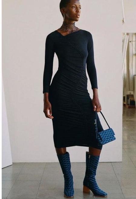 Paloma Wool Gobi Dress - Dark Navy