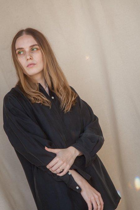 AMOMENTO Silky Shirt