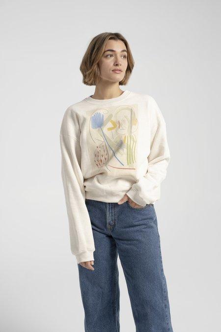 Rodebjer Masha Sweatshirt - Puffy White
