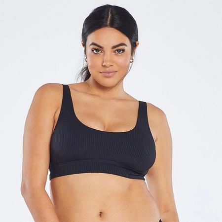 Vitamin A Sienna Tank Bikini Top - Black