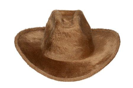 Clyde Cowboy Hat - Camel Long Hair Angora