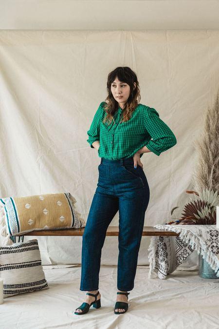 Myrtle Norma Jeans - Blue