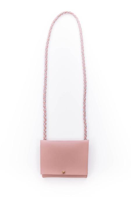 ARA Handbags Smalls Fold Over Shoulder Strap (Pink)