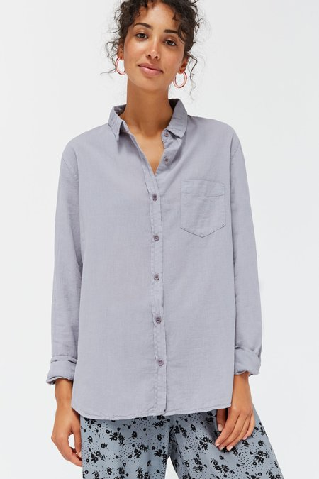 Lacausa Super Fine Nash Button Up - Fossil