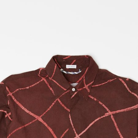 Post-Imperial LAGOS SHIRT - brown/red