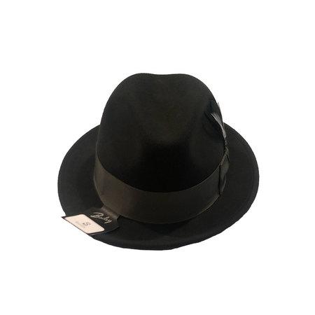 Bailey Hats Tino fedora - Basalt