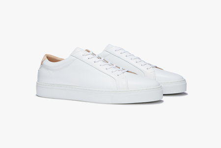 Uniform standard Series 1 shoes - White Leather