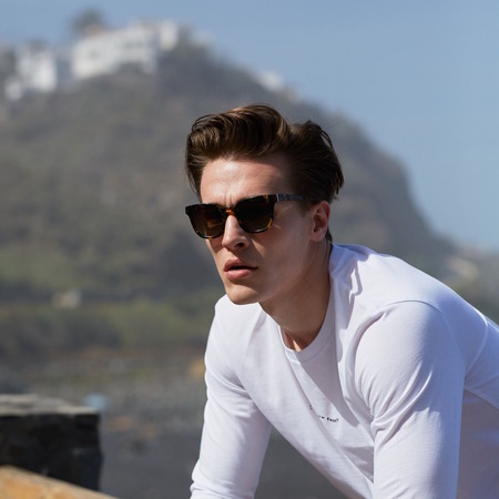 Pala Eyewear Pendo sunglasses - Maple Bio