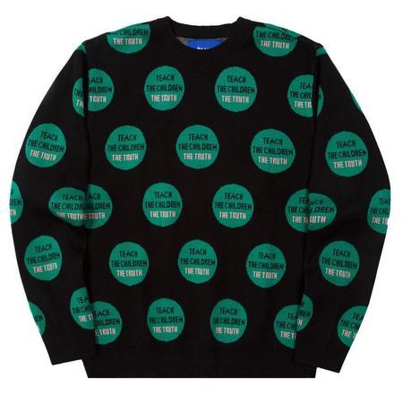 AWAKE Truth Pullover Sweater - Black